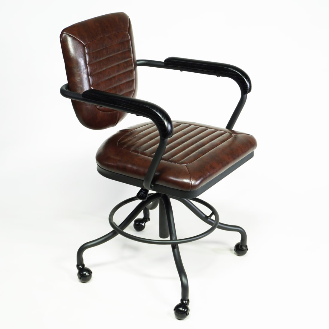 Bürostuhl vintage industrial für Homeoffice
