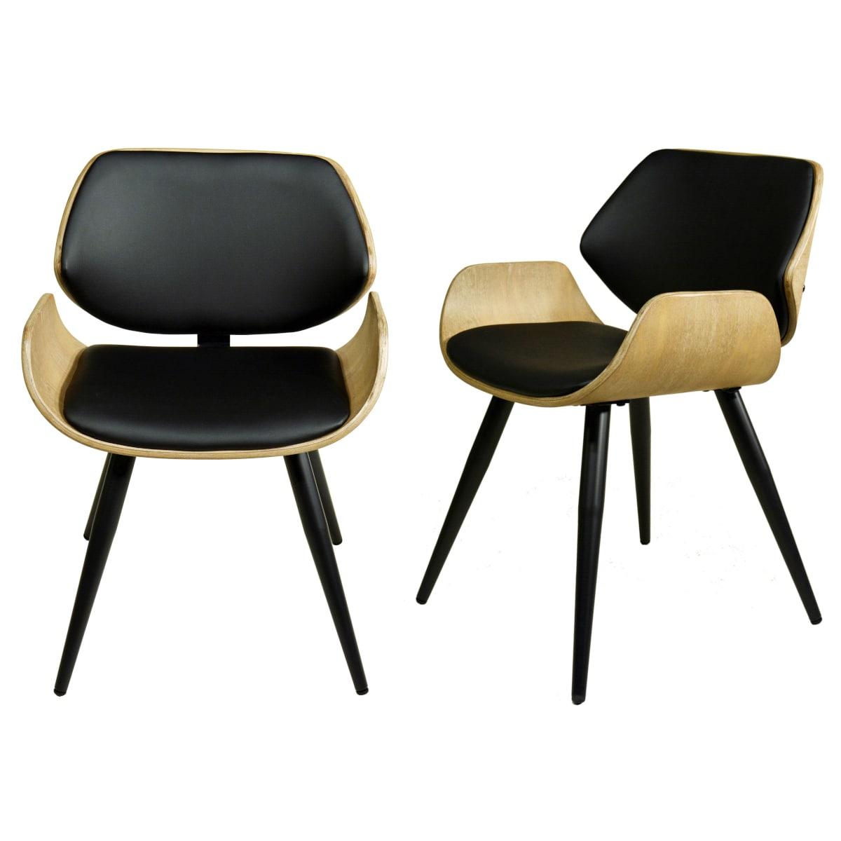Formholz Stühle gepolstert
