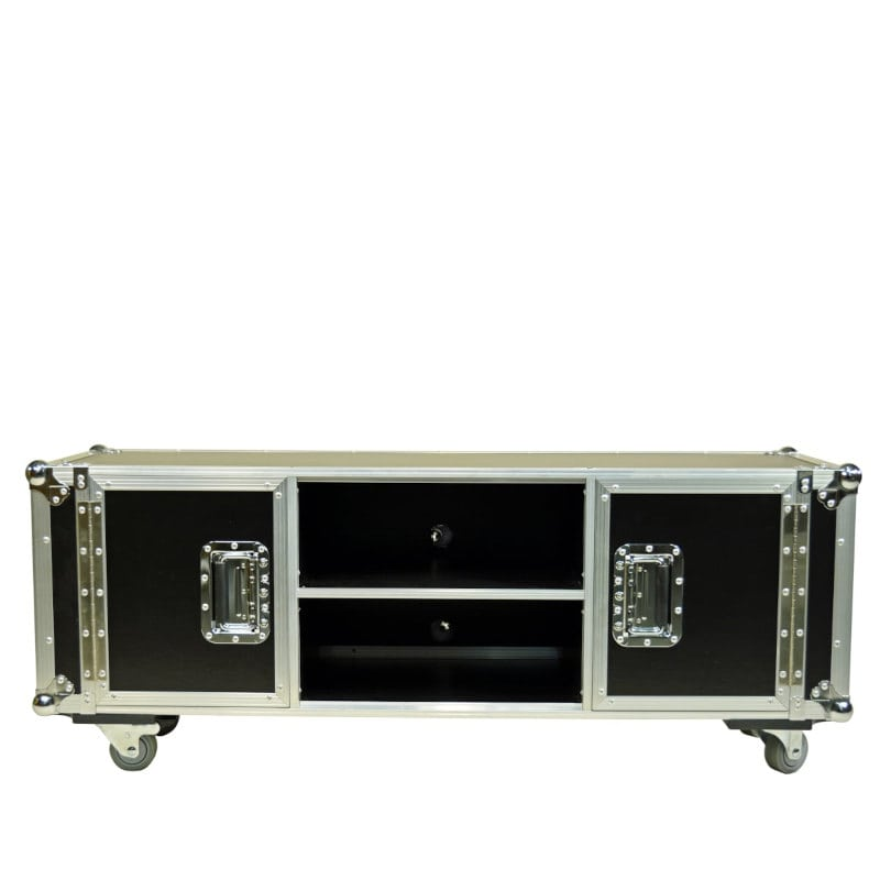 Mobiles TV Lowboard Flightcase Design