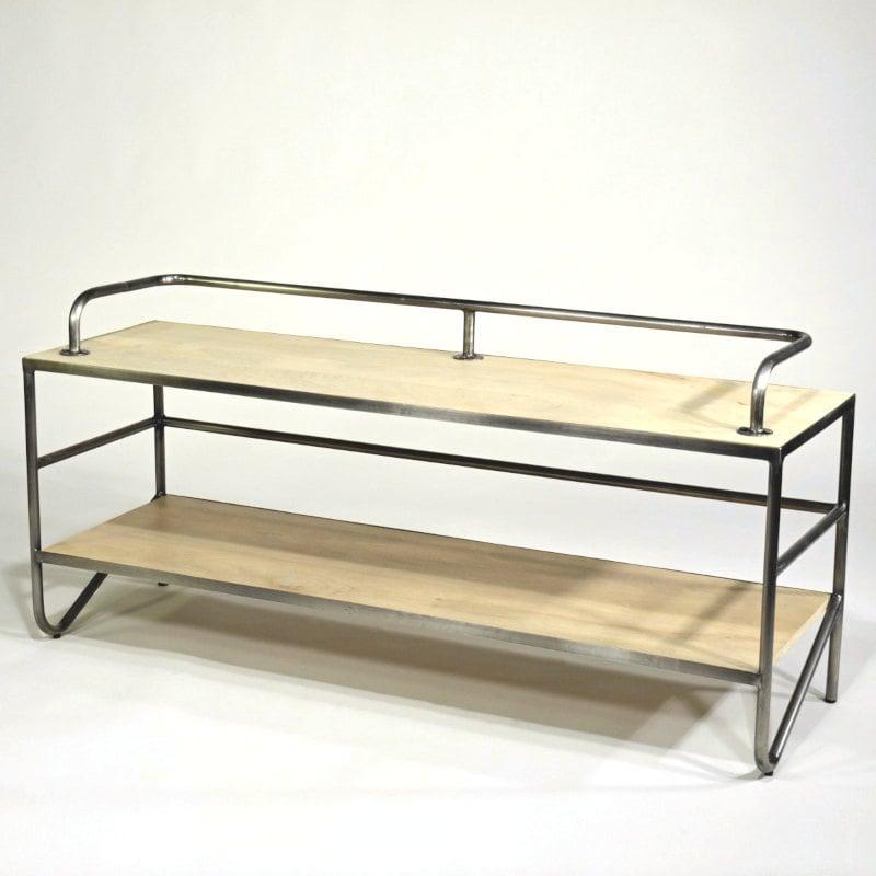 TV Tisch Bauhaus Design