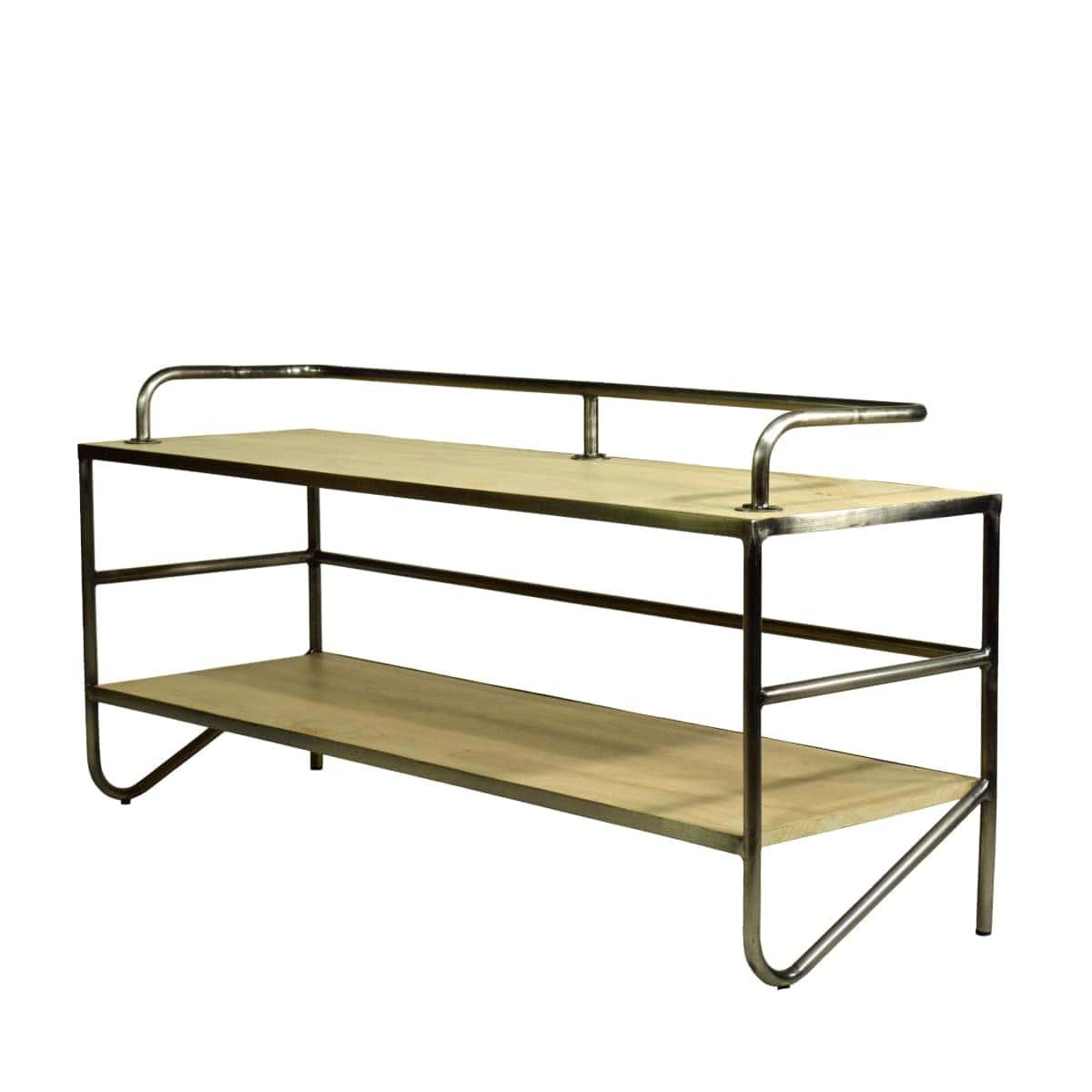 Tisch für TV Bauhaus Design Stahlrohr