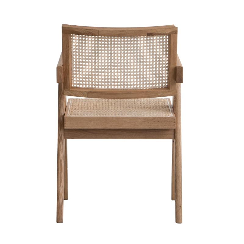 Jeannerer Complex Chair Holz Rattan