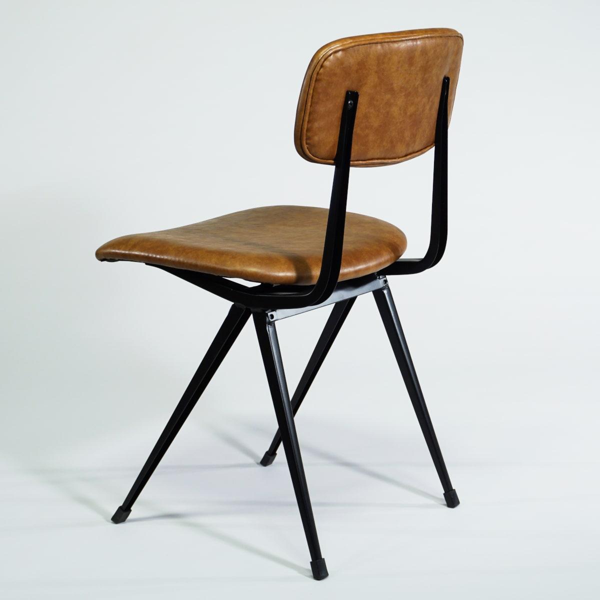 Metallstuhl Vintage gepolstert