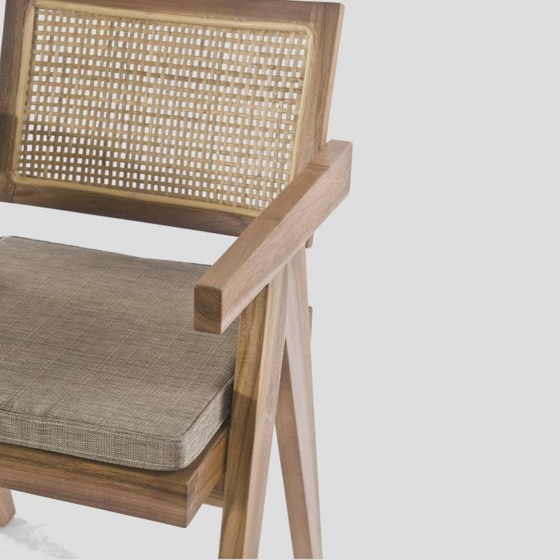 Armlehnstuhl Pierre Jeanneret 50er Jahre
