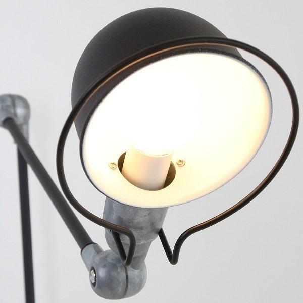 Wandlampe schwarz Industrial Design