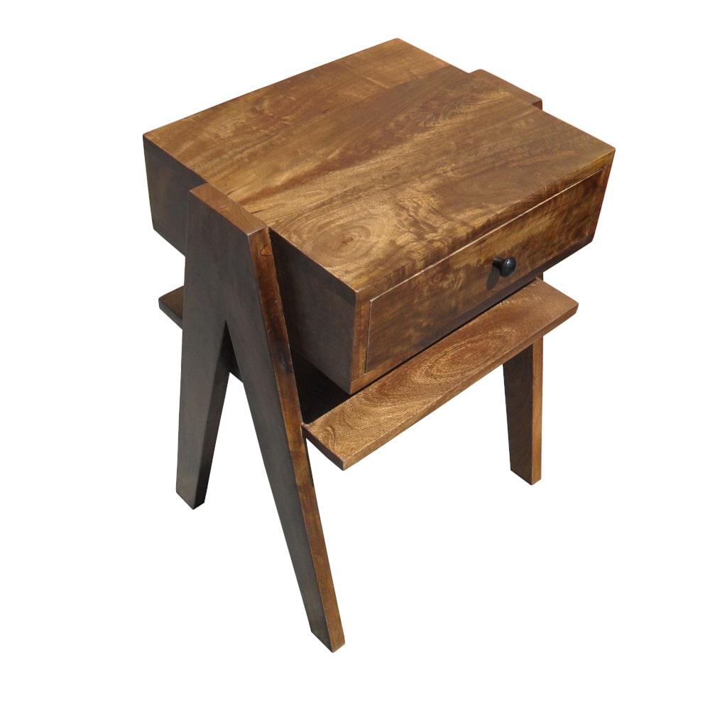 Beistellticsh klein Holz Vintage