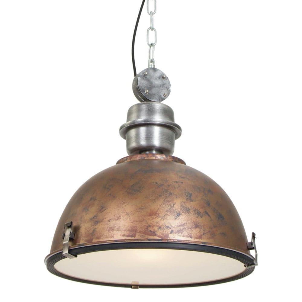 Retro Fabrikshallen Industrielampe kupfer
