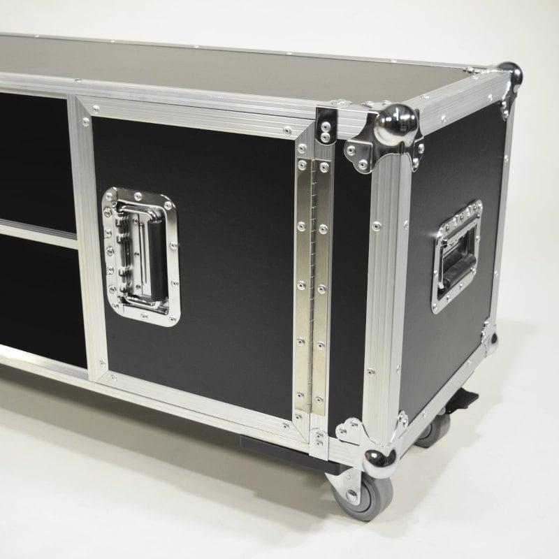 TV-Konsole im Profi Flightcase-Design