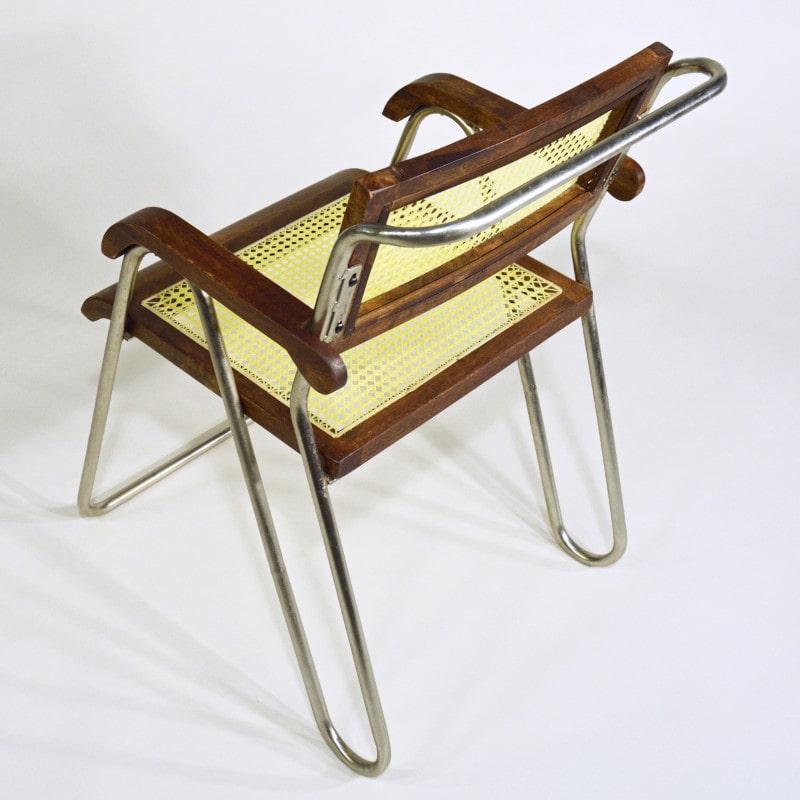 Bauhaus Design Stuhl Stahlrohr