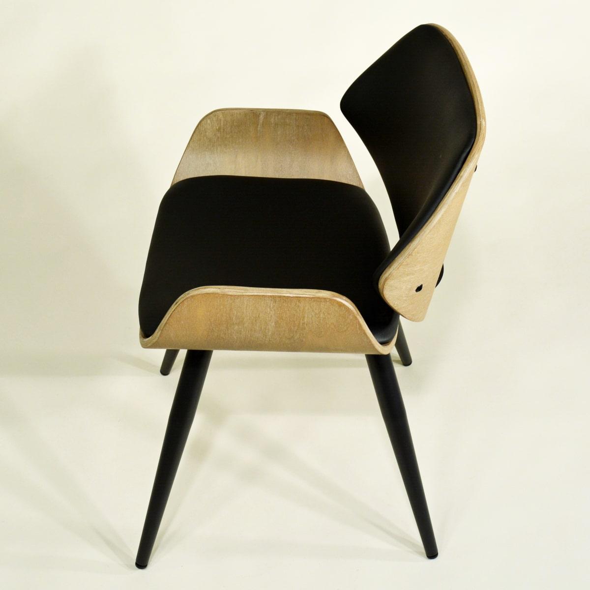Essizimmer Stuhl Holz gepolstert
