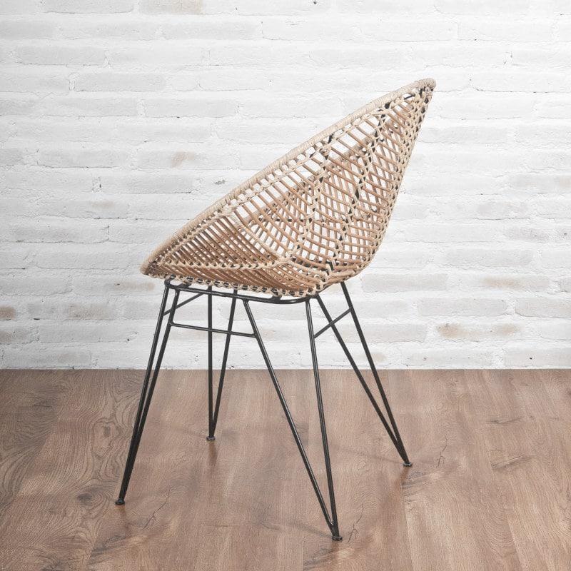 Rattan Stuhl Modern Scandi Design