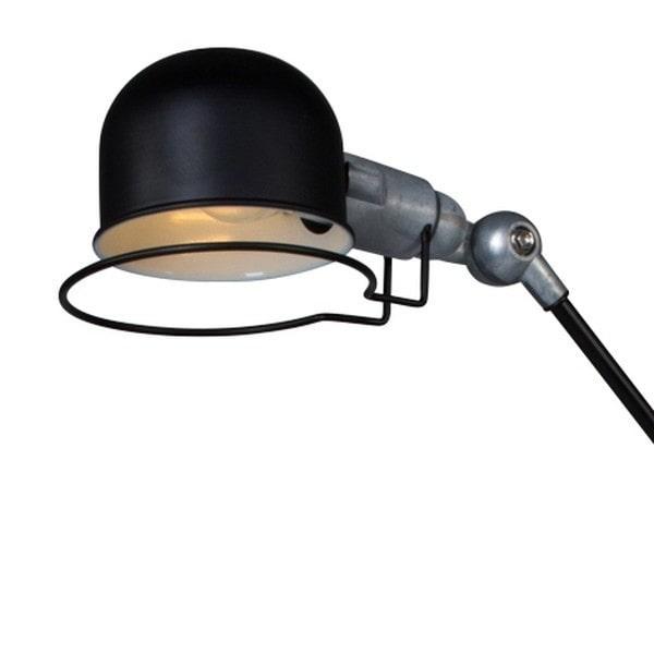 Tischlampe Homeoffice Schreibtischlampe schwarz Industrial Stil