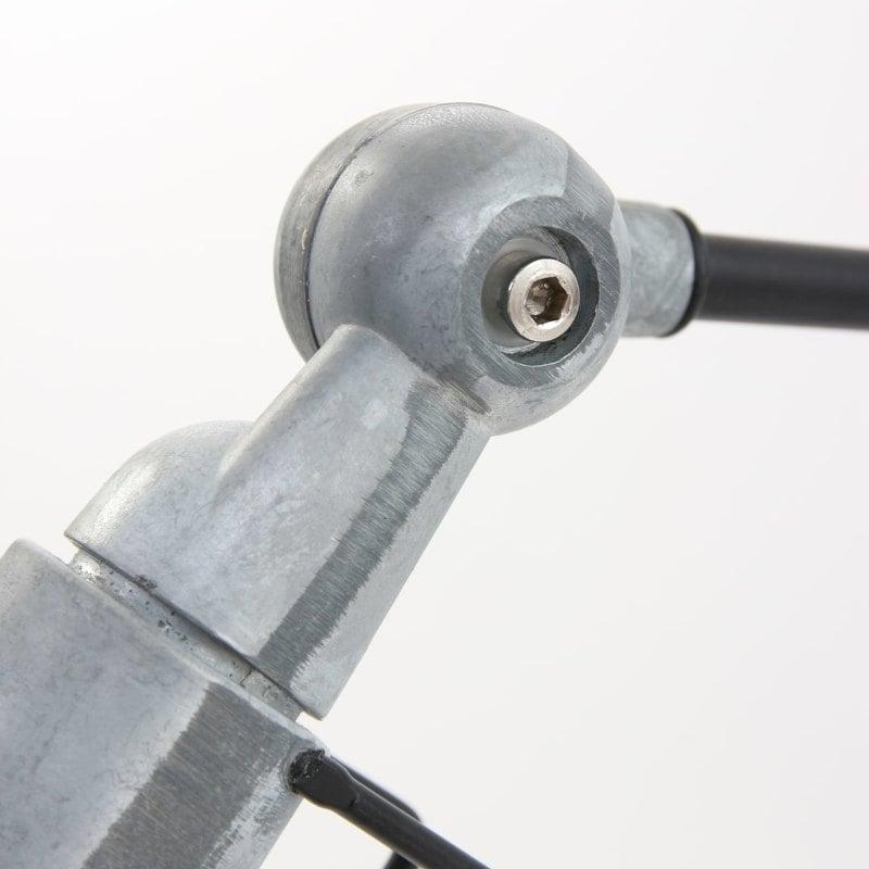 Nachttischlampe schwarz Design Klassiker Industrial Vintage Stil