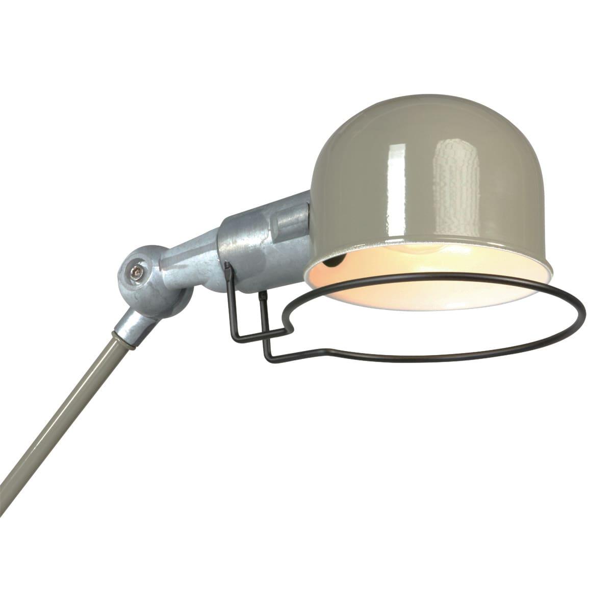 Bachttischlampe Industrial Retro Design mit Roheisen
