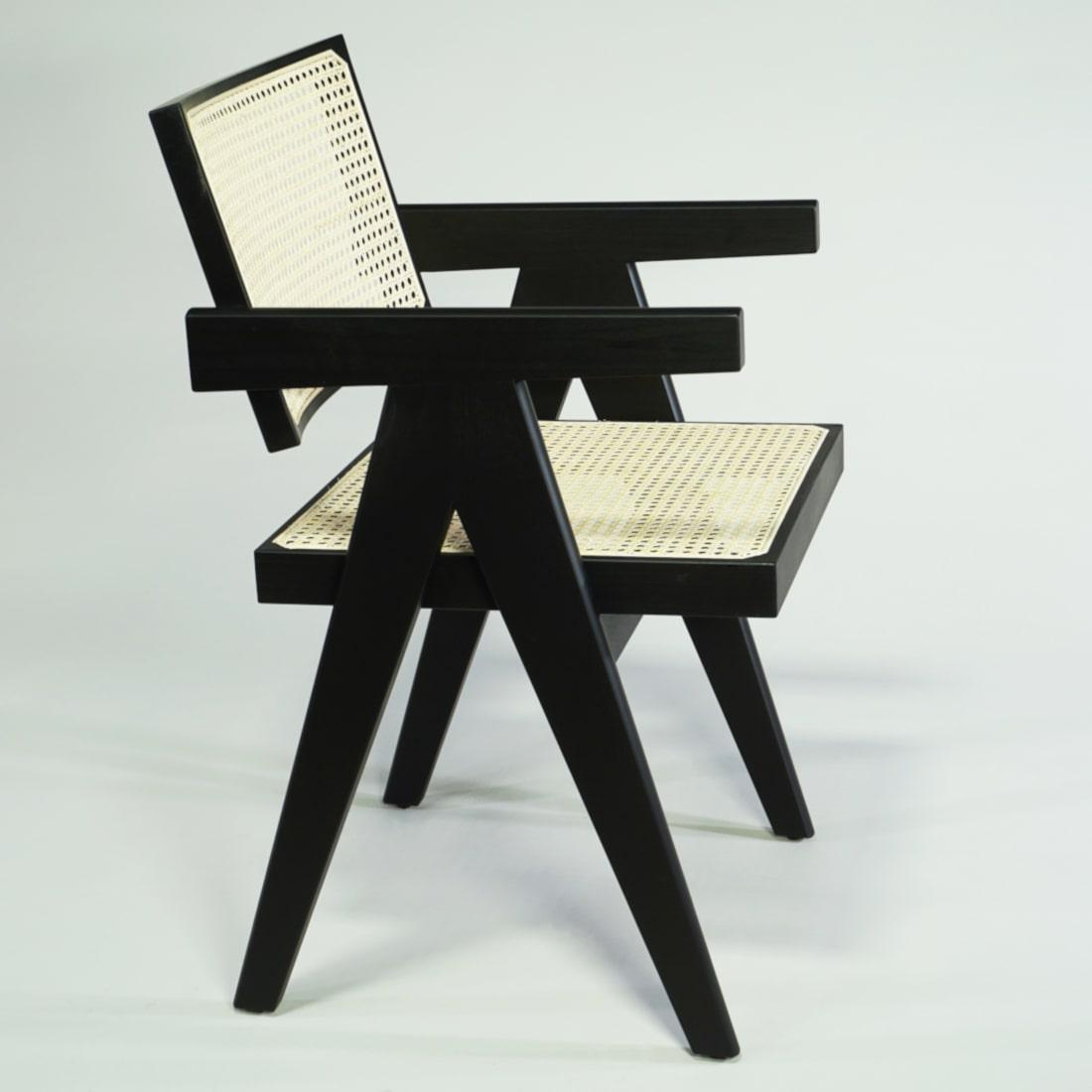 Complex Chair Schwarz Armlehne