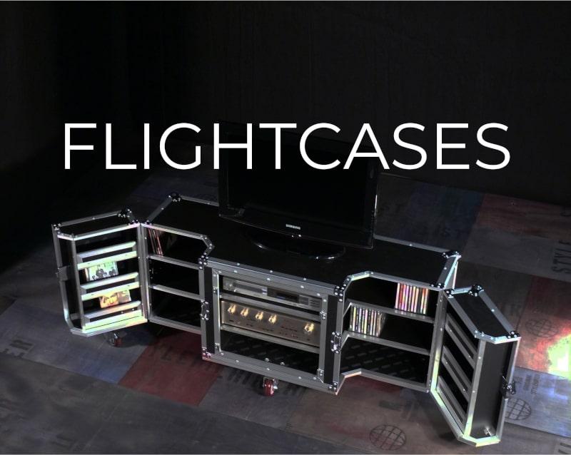 Flightcase Möbel Fabrikschick Design