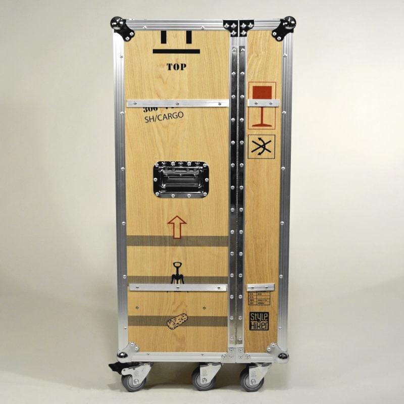 Flightcase Flugzeugtrolley Wein
