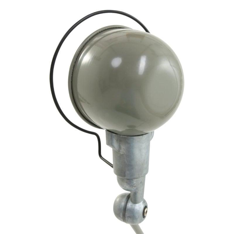 Fabrik-Tischlampe maschinengrün Industrial Stil