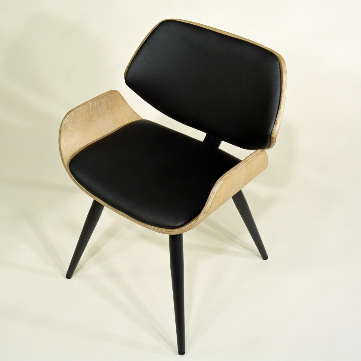 Holzstuhl Modern Retro Design