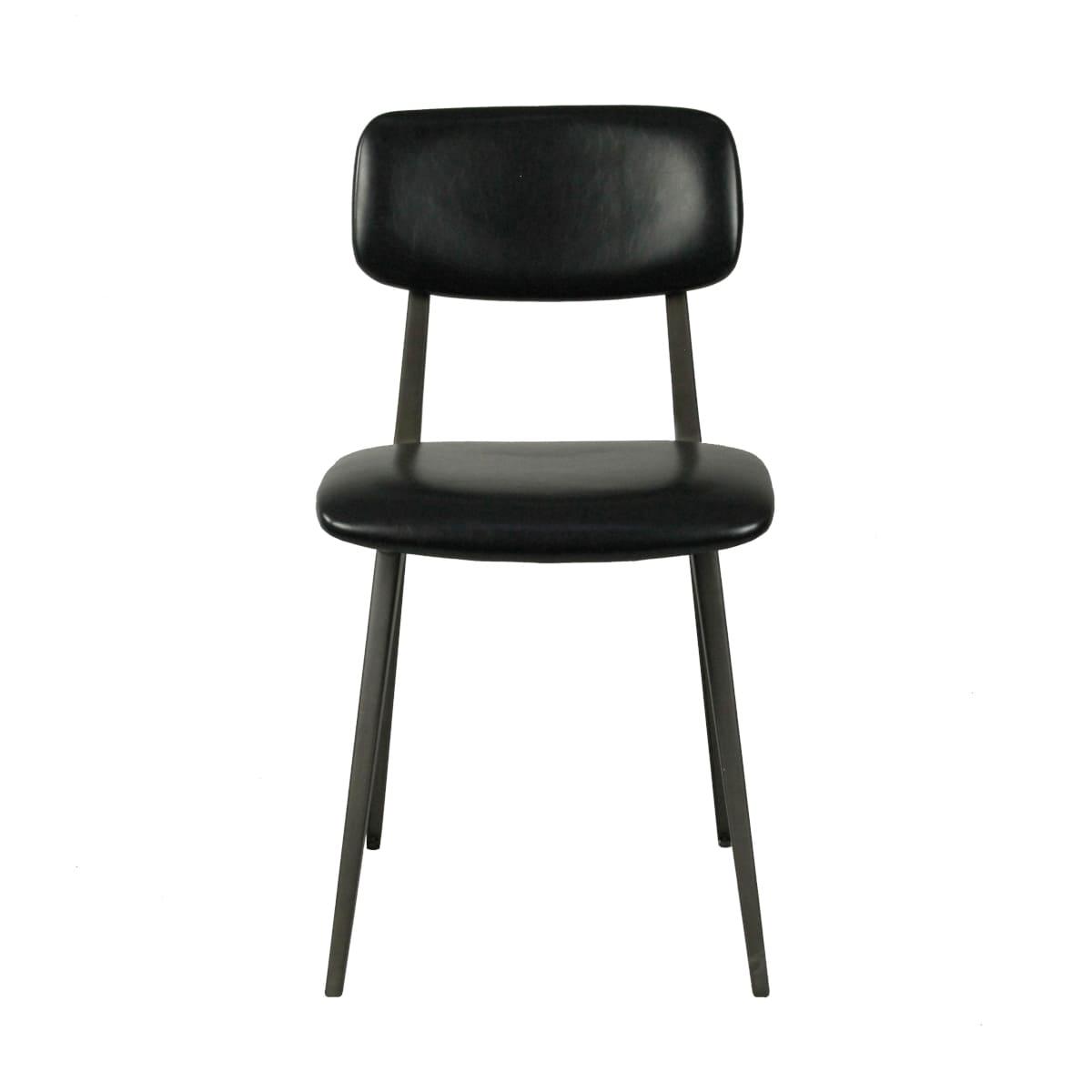 Design Stuhl 50er Jahre Design schwarz