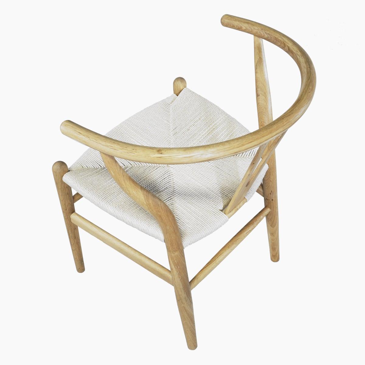 Eichenholz Armlehstuhl ähnlich Wegner Stuhl
