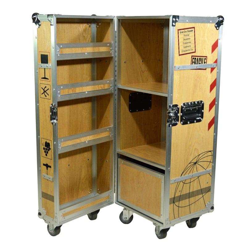 MultiCase Wood Wine Crate