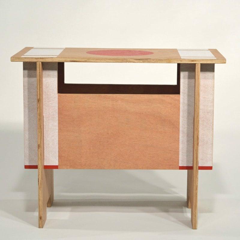 steckhocker Holz Motiv-Aufdruck Zen