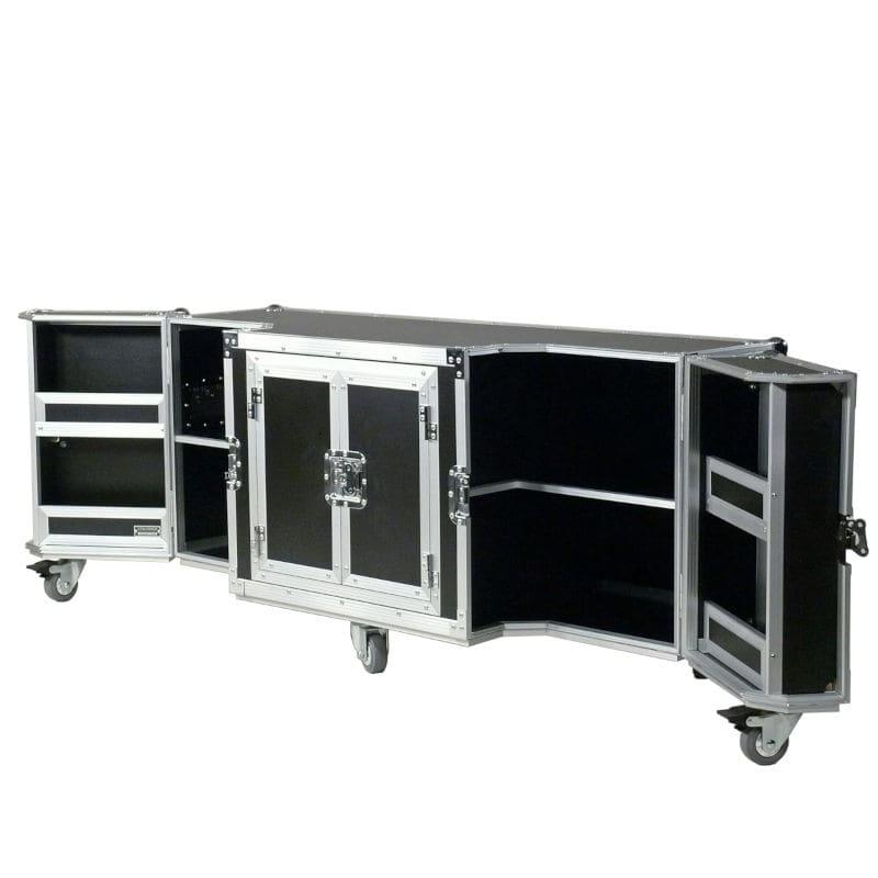 schwarzes TV Board groß Case Design