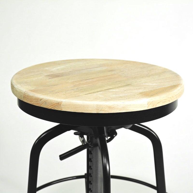 Barhocker Holz Sitz Natur