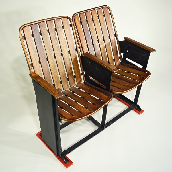 Vintage Kinobank Doppelsitzer