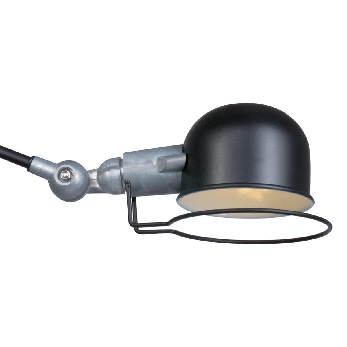 Wandlampe Leselampe Fabrik Design schwarz
