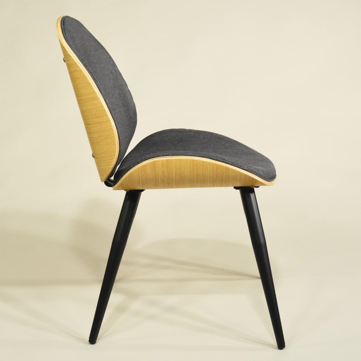 Esszimmer-Stuhl Holz Vintage Modern