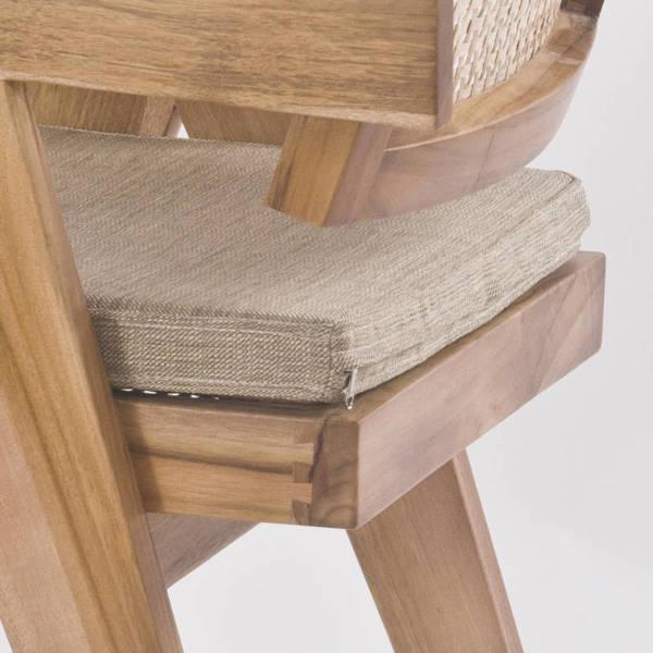 Sitzpolster passend für Pierre Jeanneret Stuhl
