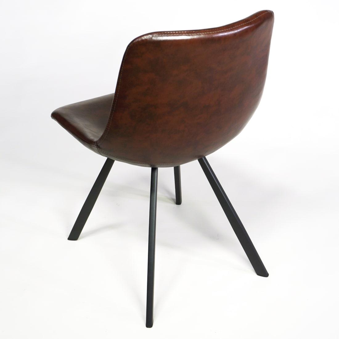 Stuhl für Esszimmer und Gastro Retro Stil