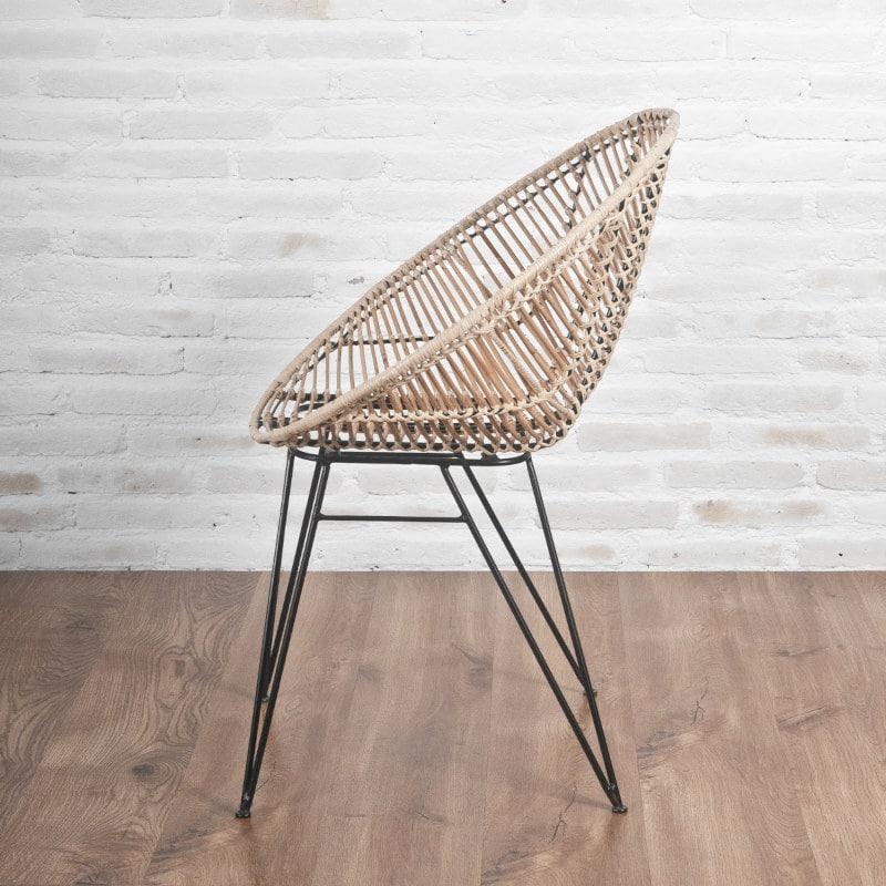 Rattan Stuhl Hoop Design