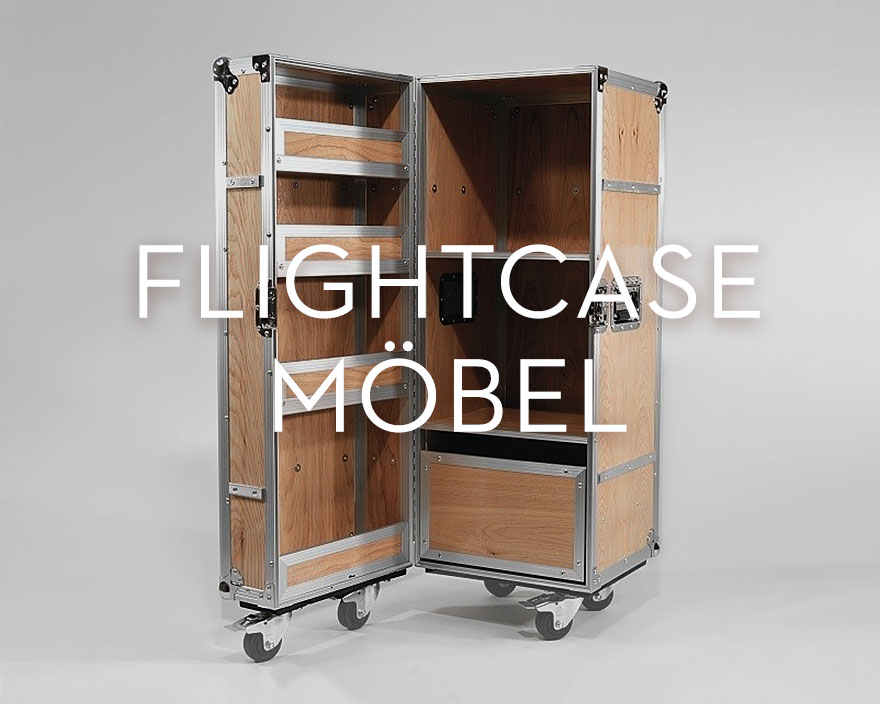 Flightcase Möbel