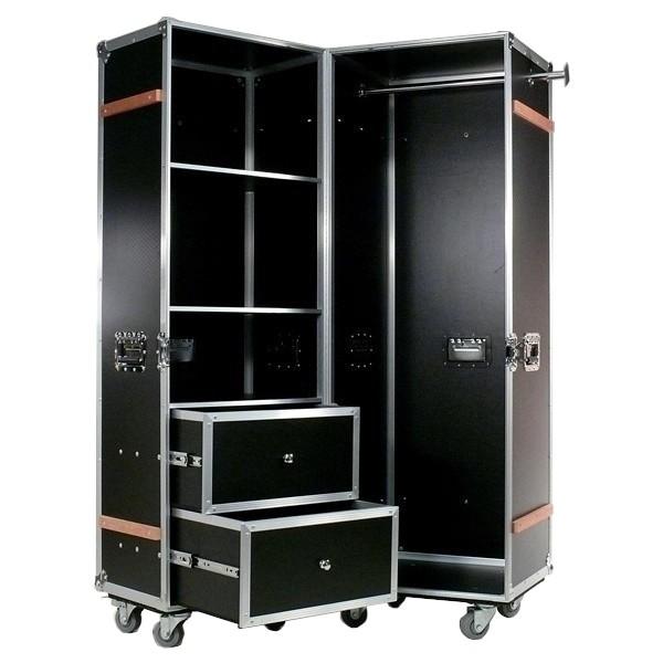 Mobile Garderobe Case-Design schwarz