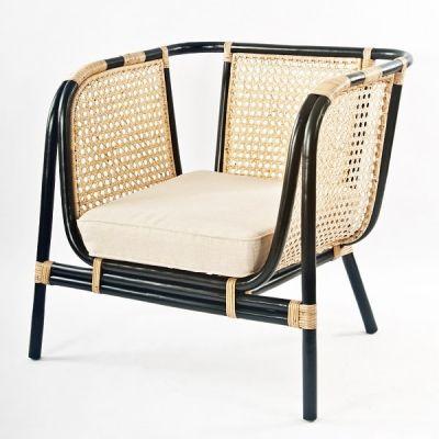 "Lounge-Sessel ""Vienna"" original 100% Rattan"