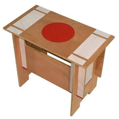 Holz-Hocker oder Tisch  'ZEN'