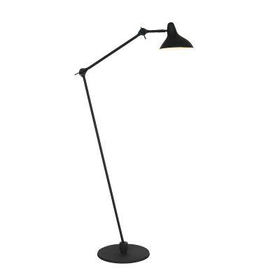 Stehlampe schwarz retro Design