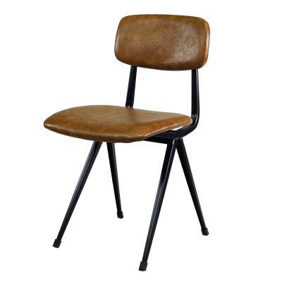 Stuhl Design-Klassiker Braun Vintage