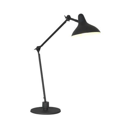 Tischlampe schwarz Retro Schick