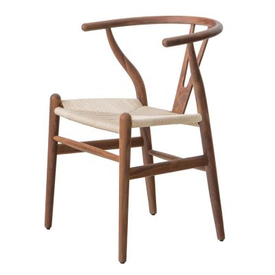 Stuhl Walnussholz Armlehne Dänisches Design